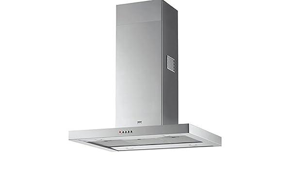 Zanussi ZHS92350XA De pared Acero inoxidable 380m³/h - Campana (380 m³/h, Canalizado/Recirculación, 61 dB, 290 m³/h, 46 dB, 61 dB): Amazon.es: Hogar