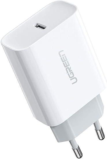 UGREEN 18W Cargador USB C Power Delivery 3.0 Carga Rápida para ...