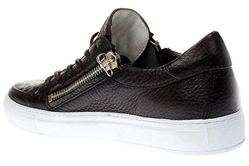 Mjus Anton - Herren Schuhe Sneaker Schnürer - 360107-0101 0001-nero-argento