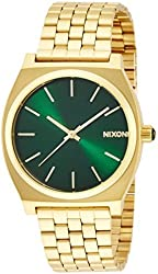 NIXON TIME TELLER: GOLD / GREEN SUNRAY NA0451919-00