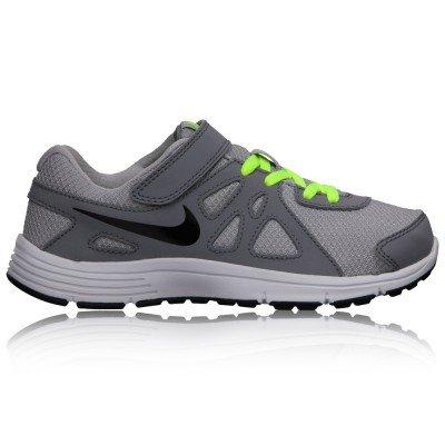 Nike - Zapatillas de nordic walking de Material Sintético para niño gris gris 28.5 Grey/Yellow