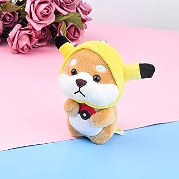 Amazon.com: Shiba Inu Dog Cartoon Doll Cute Plush Keychain ...