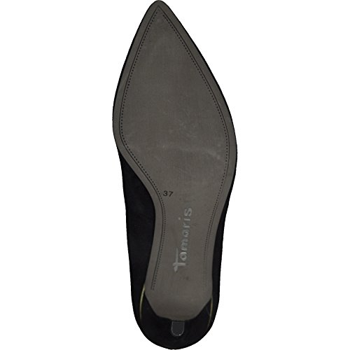 Tamaris 22457 Black Court Women's 21 Shoes r5BrHq