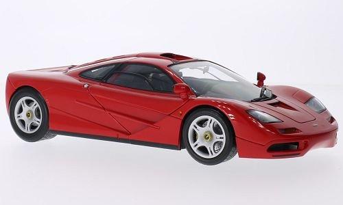 McLaren F1, rot, 1993, Modellauto, Fertigmodell, Minichamps 1:18