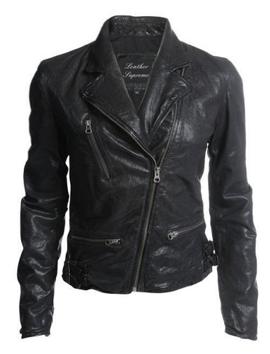 Leather Supreme Women's Genuine Lambskin Fashion Leather ...