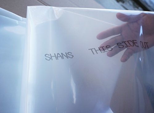 SHANS Greenhouse Clear Plastic Film/Polyethylene...