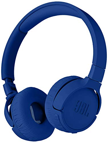 JBL Tune 600 BTNC On-Ear Wireless Bluetooth Noise Canceling Headphones – Blue