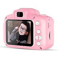 MINGRONG Mini cámara Digital para niños, cámara Digital a Prueba de choques Linda y Creativa de 2.0 Pulgadas Tomar Fotos Cámaras de Video Cámara de acción 1080P HD