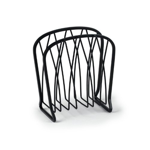 Spectrum Diversified Twist Napkin Holder, Black