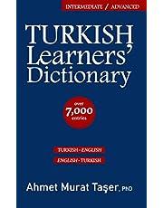 Turkish Learners' Dictionary: Intermediate & Advanced Level