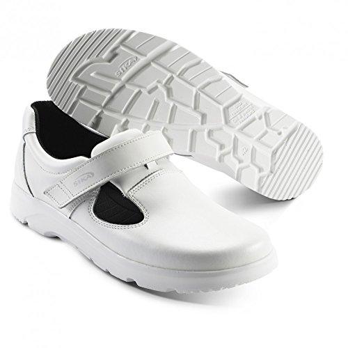 OptimaX sandales sans renfort en acier blanc 191 bGR o1 sRA