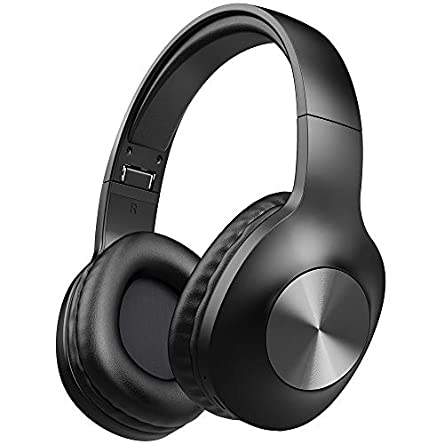 LETSCOM Bluetooth Headphones, 100 Hours Playtime Bluetooth...