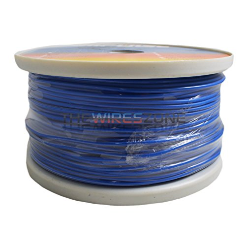 Blue 18 Gauge AWG 500' Feet ft Stranded Primary Remote Wire Cable
