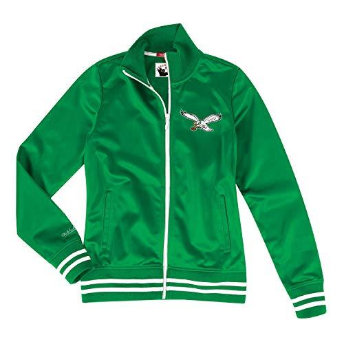 Mitchell & Ness Philadelphia Eagles Women's NFL Gametime Premium Track Jacket (Mitchell And Ness Jacket)