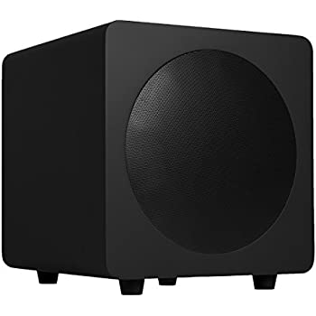 "Kanto sub8 Powered Subwoofer – 8"" Paper Cone Driver — Powerful Bass Extension – Matte Black"