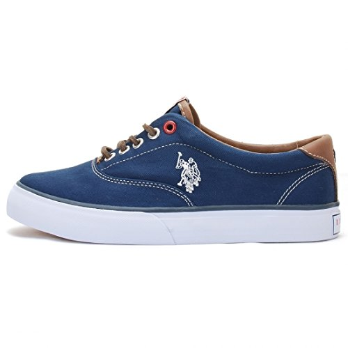 US POLO - Fashion / Mode - Ox Folk1 Dark Blue Wn - Bleu