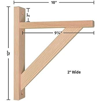 Wood Shelf Bracket Oak Straight 10 30 Off Www Ccaa Aero
