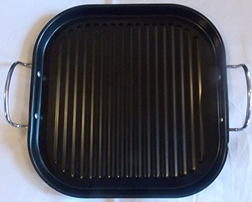 Nonstick 2 Handle Grill Pan 11 Inch Square