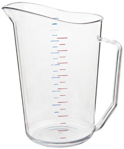 Cambro 200MCCW 2 qt Capacity, Camwear Clear Polycarbonate Liquid Measuring Cup