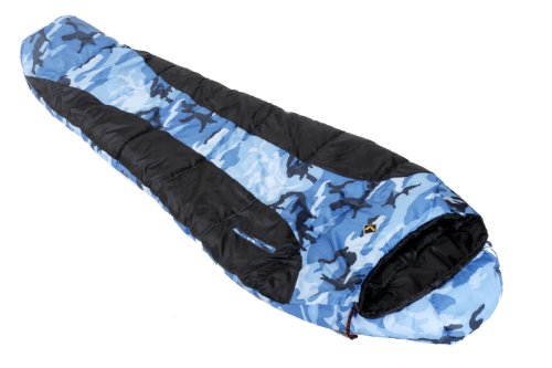 Ledge Sports Springz +25 F Flannel Lined Youth Sleeping Bag (64 X 27, Blue), Outdoor Stuffs
