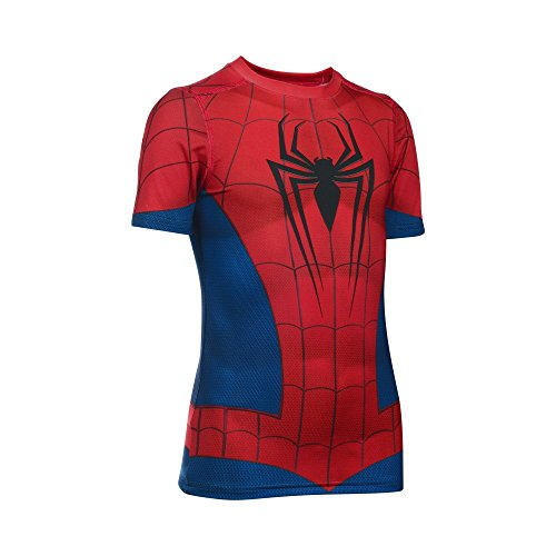 Under Armour Alter Ego Spider-Man Fitted Youth X-Large - Under Armour Shirts Spiderman