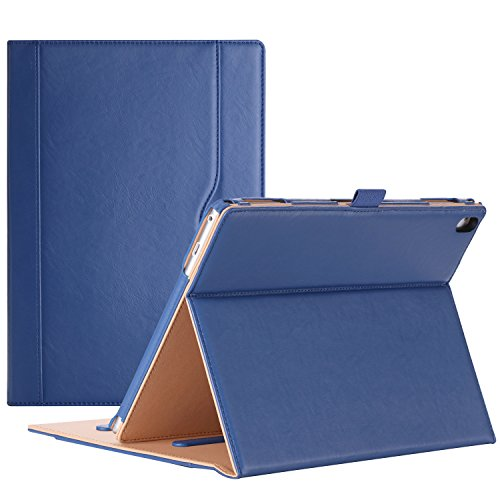 ProCase Lenovo Tab 4 10 Plus Case - Stand Folio Case Protective Cover for Lenovo Tab 4 10.1 Plus Android Tablet 2017 Release ZA2T0000US -Navy