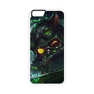 iphone6 plus 5.5 inch case , League of Legends-Omega Squad Teemo Cell phone case White for iphone6 plus 5.5 inch - LLKK0737763