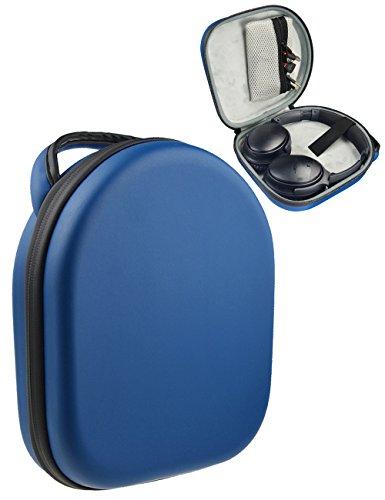 Carrying Case for Parrot Zik 1.0, 2.0, 3; BeoPlay H2, H6, H8; Bose QC35, QC25, QC3, QC2, QC15, AE2w, AE2i, AE2, SoundTrue; Sony MDRXB950BT/B, MDR-XB950AP, MDRXB650BT; Sennheiser HD800, MM 550-X (Blue)