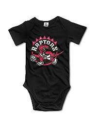 Toronto Raptors Cute Short Sleeves Variety Baby Onesies Bodysuit For Little Kids
