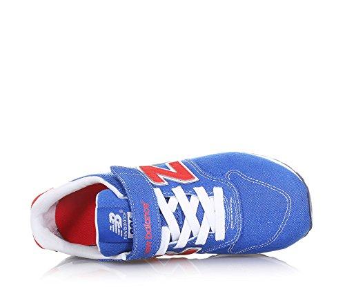 NEW BALANCE - Zapatilla deportiva 996 Preschool de cordones azul, de tejido, con cierre de velcro, logo en la lengüeta, Niño, Niños