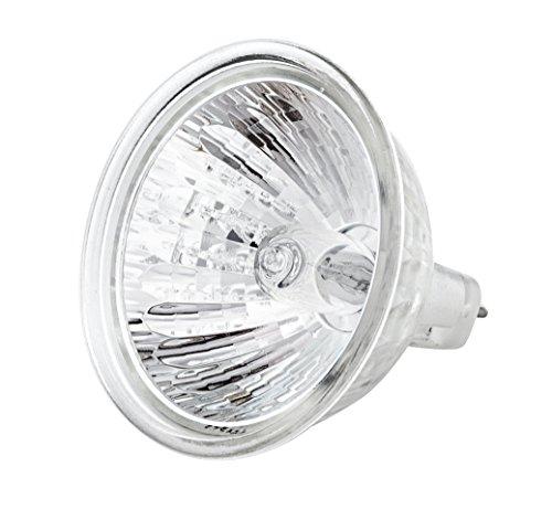 (Pack Of 10) MR16 20W 12V GU5.3 Base Halogen bulb Flood 2000Hr Life 2950K Warm White MR16 Halogen Light Bulb ()