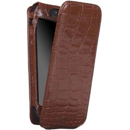 SENA Case Magnet Flipper für Apple iPhone 5 croco tan
