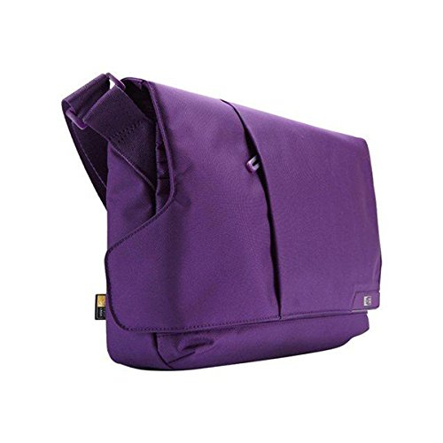 Case Logic MLM-111 11-Inch Laptop/Chromebook and iPad Messenger Case (Gotham Purple) (Best Mlm In The World)