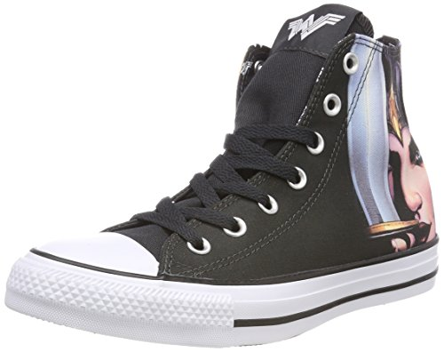 Canvas Youth Wonder 001 Mehrfarbig White Woman 9534 Chuck Trainers Taylor Hi All Star Black Converse Black 1AYwq1