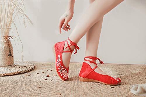Red Lazutom Scarpe Stringate Lazutom Donna Donna Stringate Scarpe qZ6w0xTw5v