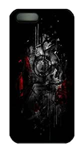 Novel Design Abstract Painting Bloodyloud Custom Ultraslim Fits Hard Back Case for iphone 5/iphone 5s