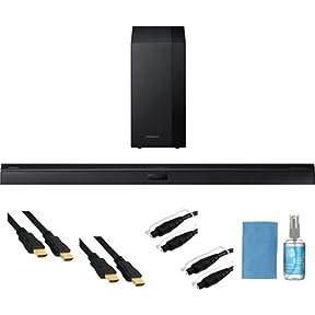 Samsung 2.1 Sound Bar Speaker - 290 W RMS - Wireless Speaker(s) HW-H450