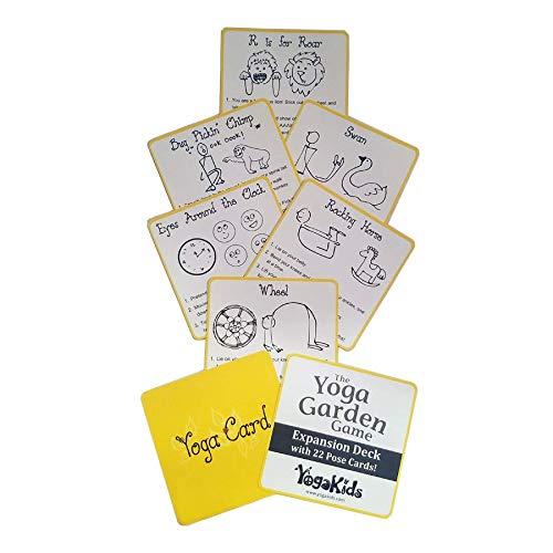 The Yoga Garden Game Pose Card Expansion Deck