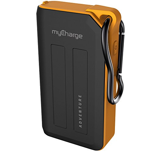 myCharge AdventurePlus Portable Charger 6700mAh Rugged External Battery Pack Built-in Carabiner Clip Dual USB Ports Smartphones, Tablets USB Devices (iPhone, iPad, Samsung Galaxy)