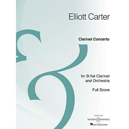 Clarinet Concerto (Full Score Archive Edition) Boosey Hawkes Scores/Books Series by Elliott Carter