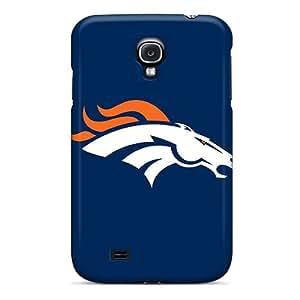 Samsung Galaxy S4 UfI8846XJIh Unique Design Lifelike Denver Broncos Series Shockproof Cell-phone Hard Cover -JoanneOickle