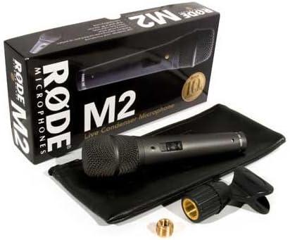 Rode M2 Handheld Super-Cardioid Condenser Microphone