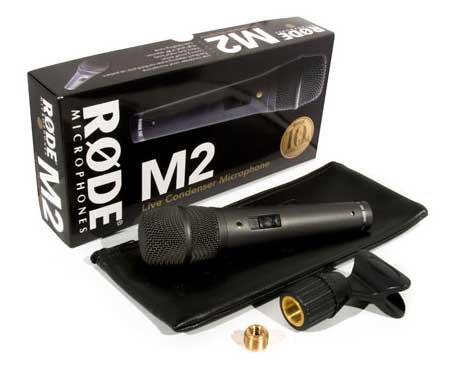 میکروفون رود مدل M2 رنگ مشکی