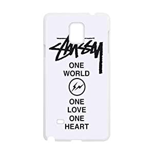 customize St¡§1ssy Stussy Logo back Cell is Phone history Case for Samsung Galaxy the Note4 TOOT0 Case