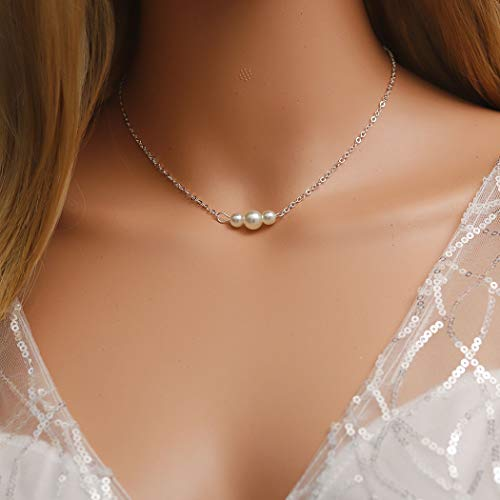 Pearl Dove Necklace - 4