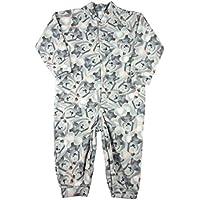 Macacão Pijama Infantil Microsoft Estampado 1-3 - Salmão