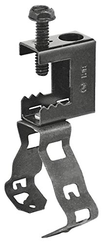 Conduit Clamps Hanger (Snap Lock Conduit Hanger with Beam Clamp Top Mount for 1/2 Inch or 3/4 Inch Conduit)