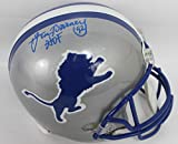Lem Barney Autographed Detroit Lions Full Size Riddell Helmet w/Inscription JSA COA