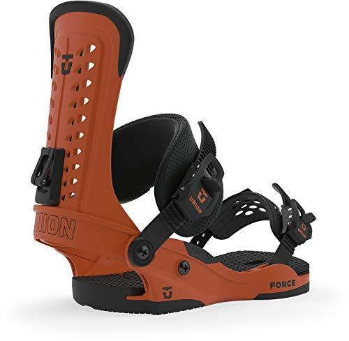Union Force Snowboard Bindings Mens Sz L (10.5+) Burnt Orange