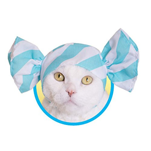 Kawaii Kawaii Neko Candy-Chan, Candy Hat for Cat (Soda)]()
